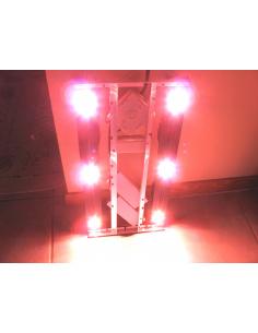 Panneau LED 6 spots 2x50cm...