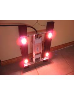 Panneau LED 4 spots 2x40cm...