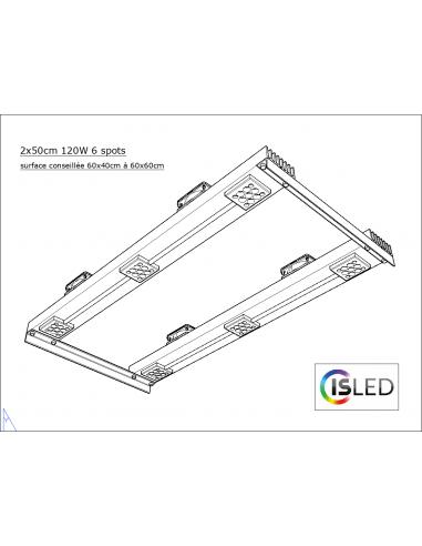Lampe LED V4.2F (Floraison Compatible...