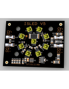 Carte V5.0C 9 LEDs 130° 23V...