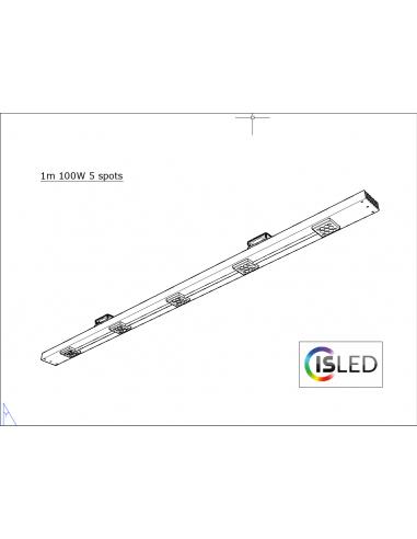 Rail LED V5.2F (Floraison Compatible...
