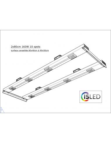 Lampe LED V5.0F (Floraison Compatible...