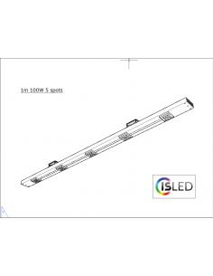 Rail LED V5TT 100cm 100W 5...