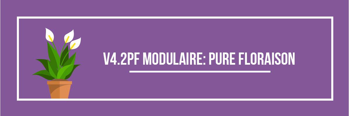 V4.2PF modulaire : Pure Floraison